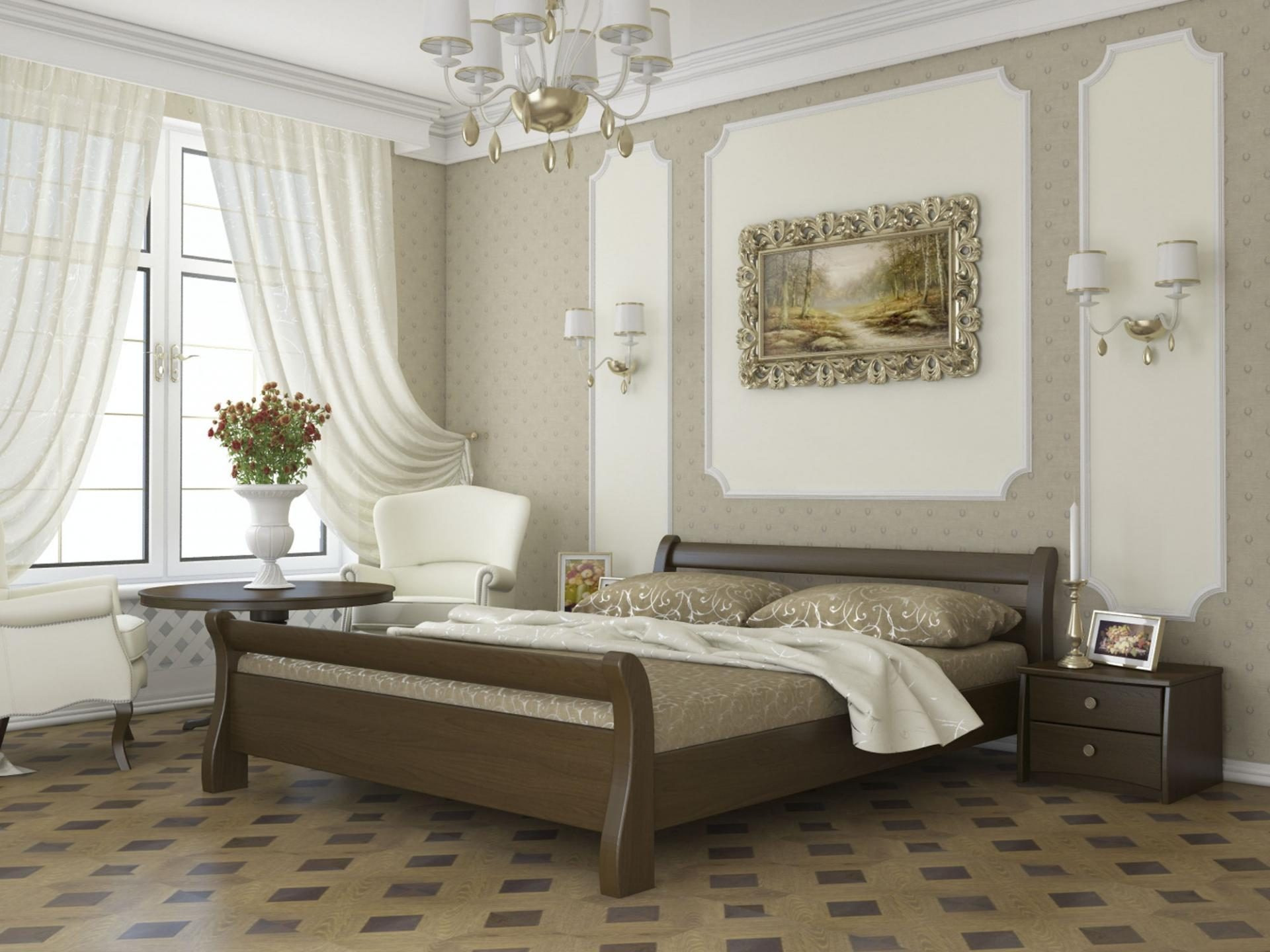 Ліжка з натурального дерева з Львівської фабрики Estella