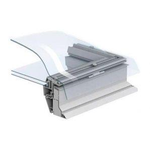 Захисний купол VELUX ISD 0000 060060 для зенітного вікна 60х60 см прозорий
