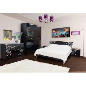 Спальня Мир мебели Фелиция новая черная