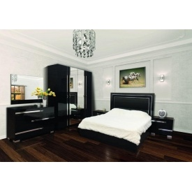 Спальня Мир мебели Экстаза черная