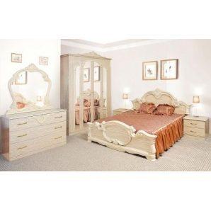 Спальня Мир мебели Империя 6Д перламутр