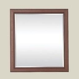 Зеркало БМФ Роксолана люкс МР-2295 700х800х30 мм орех артемида