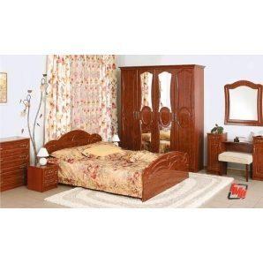 Спальня БМФ Глорія вишня лак