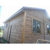 Дерев'яний каркасно-щитовий будинок