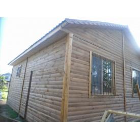 Деревянный каркасно-щитовой дом