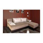 Диван угловой Мебель Прогресс Рио 2050x1500x850 мм коричневый