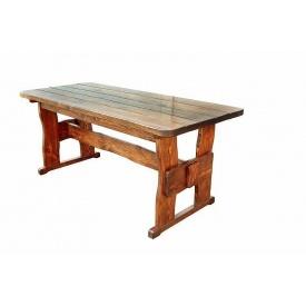 Стол деревянный для дачи и сада 3000х1200х770 мм тик