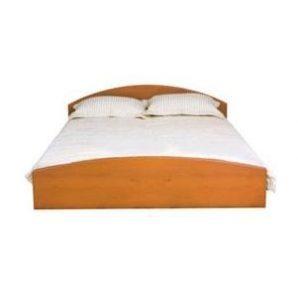 Кровать двойная БМФ Атлант КТ-574 1800х700х2030 мм ольха