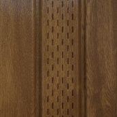 Софит Welltech С2 3600х257 мм вертикальный перфорированный ламинированный орех