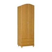 Шкаф для одежды БМФ Атлант Ш-1462 680х2030х520 мм ольха