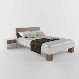 Ліжко СОКМЕ Крослайн 140 895х2320х1470 мм крослайн латте/мокка