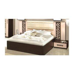 Кровать Мастер Форм Селеста 1850х2050х1150 мм венге/дуб молочный