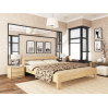 Кровать Эстелла Рената 102 80x190 см массив