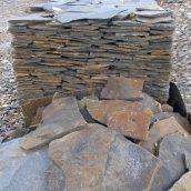 Рваний камінь ALEX Group Закарпатський андезит синяк-сірий