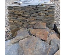 Рваный камень ALEX Group Закарпатский андезит синяк-серый