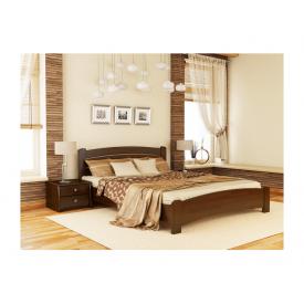 Ліжко Естелла Венеція Люкс 101 2000x1800 мм масив