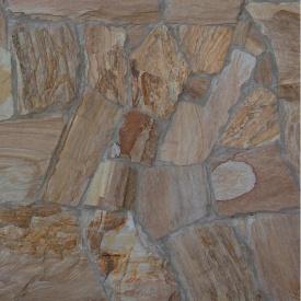 Рваный камень ALEX Group Турецкое дерево рыже-коричневый