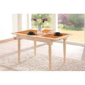 Обідній стіл ONDER MEBLI СТ 2950 білений дуб