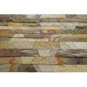 Камінь соломка ALEX Group Закарпатський андезит оливково-коричневий