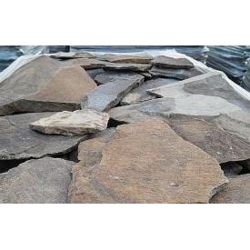 Рваный камень ALEX Group Закарпатский андезит оливково-коричневый