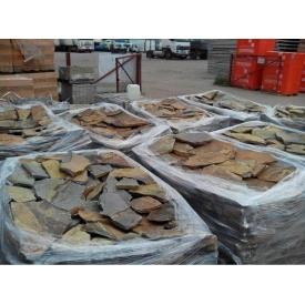 Тротуарний камінь ALEX Group Закарпатський андезит 5 см оливково-коричневий