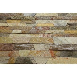 Камень соломка ALEX Group Закарпатский андезит оливково-коричневый