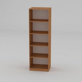 Книжный шкаф Компанит КШ-1 1950x612x448 мм бук