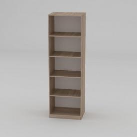 Книжный шкаф Компанит КШ-1 1950x612x448 мм дуб сонома