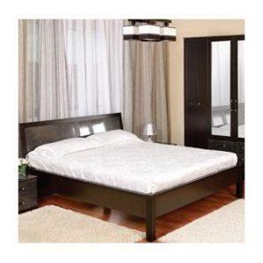 Ліжко подвійна БМФ Орфей КТ-712 950х1500х220 мм золота лоза / венге темний
