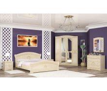 Спальня Мебель-Сервис Милано 4Д из МДФ береза
