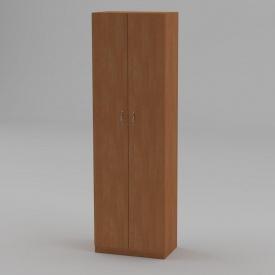 Книжкова шафа Компанит КШ-7 1950x600x366 мм вільха