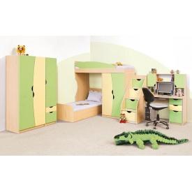 Детская Мир Мебели Саванна фисташка/ваниль