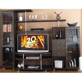 Гостинная Мебель-Сервис Рио-2 1706х2270х550 мм венге темный