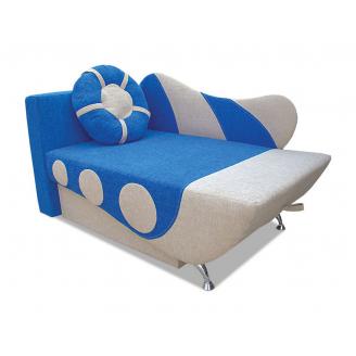 Детский диван Вика Кораблик 70 раскладной 77х82x145 см