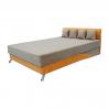Кровать Вика Сафари 140 с матрасом 140x202х80 см