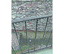 Сітка декоративна TENAX Ексагон 1х30 м срібна