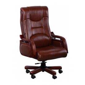 Крісло AMF Річмонд DT шкіра Люкс коричнева 70x70x120 см