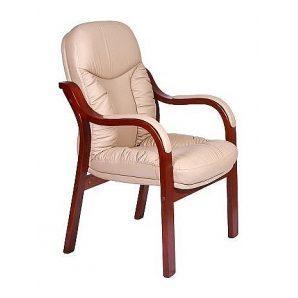 Кресло AMF Буффало CF кожа Люкс крем-брюле 62x62x98 см коньяк