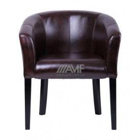Крісло AMF Веллі Мадрас дарк браун 680х650х790 мм венге