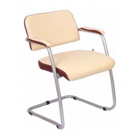 Офисный стул AMF Гранд Мадрас голд беж отд. Неаполь N-32 585х620х780 мм алюминий