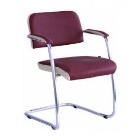 Офисный стул AMF Гранд Неаполь N-08 отд. Неаполь N-17 585х620х780 мм хром