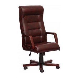 Кресло AMF Роял Экстра Anyfix Мадрас дарк браун 63x81x118 см вишня