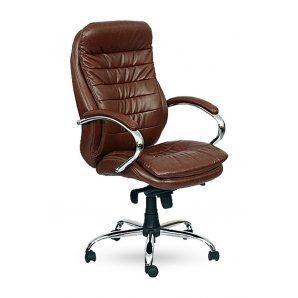 Кресло AMF Валенсия НВ MB Мадрас дарк браун 66x70x110 см хром