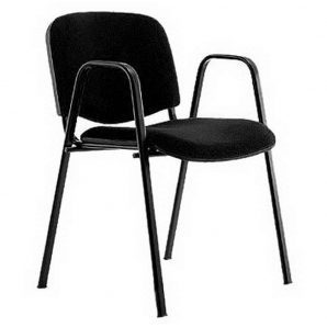 Офісний стілець АМF Ізо В А-01 500х540х840 мм чорний