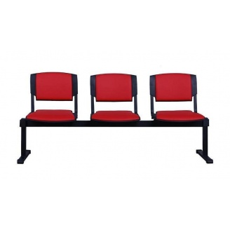 Офісний стілець АМF Призма-3 Неаполь N-36 635х825х1790 мм чорний