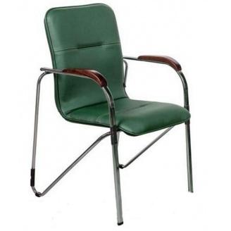 Офісний стілець AMF Самба Софт Неаполь N-35 з кантом 610х615х890 мм хром