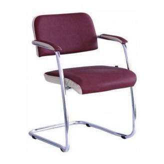 Офісний стілець AMF Гранд Неаполь N-08 отд. Неаполь N-17 585х620х780 мм хром