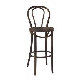 Барний стілець AMF Віденський-1 Хокер 425х500х1110 мм горіх