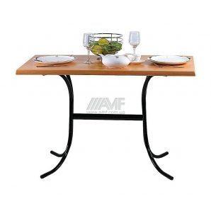 База для стола AMF Елена 709x750x660 мм лак черный