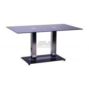 Стол обеденный AMF Богема 1500х900х750 мм черный